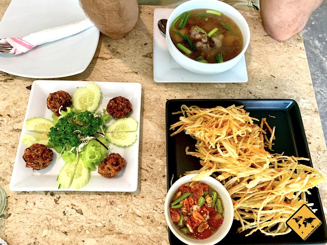 Thailand Essen Gerichte