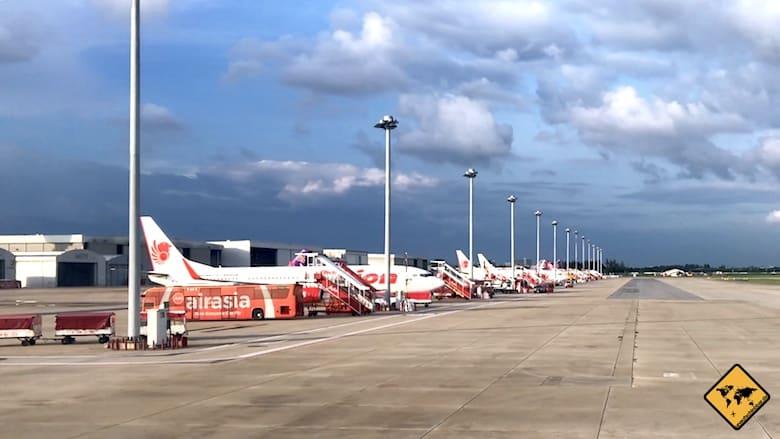 Thailand Kosten Inlandsflug
