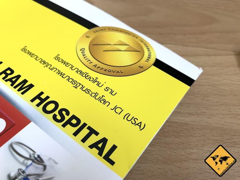 Thailand Krankenhaus Kosten Mappe