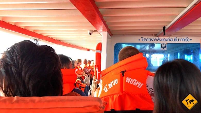 Thailand Preise Boot