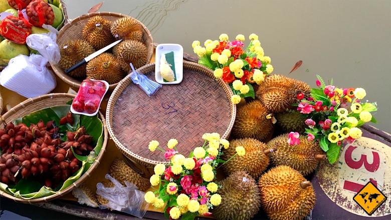 Thailand Preise Floating Market