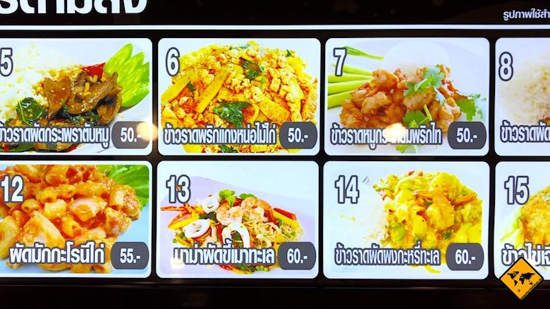 Thailand Preise Thai Essen
