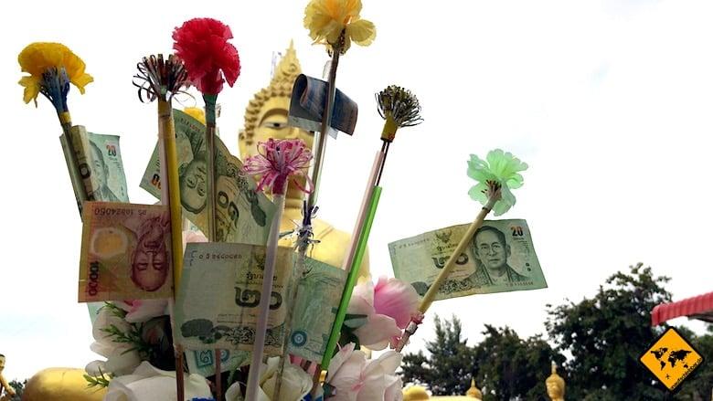 Thailand Reise Kosten Währung