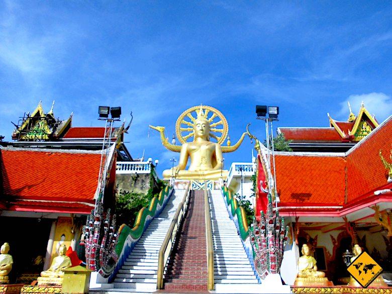 Thailand Rundreise Koh Samui Big Buddha