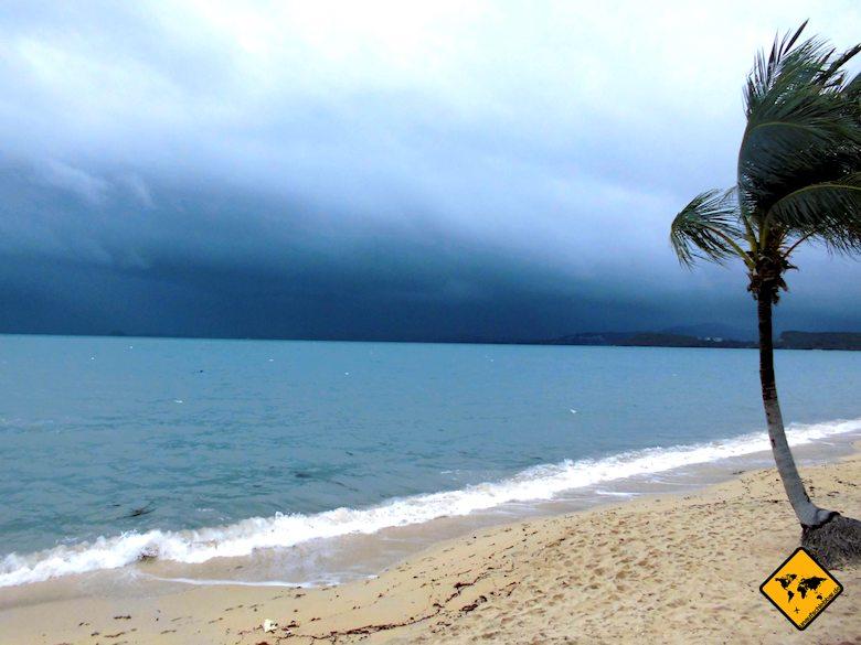 Thailand Rundreise Regenzeit