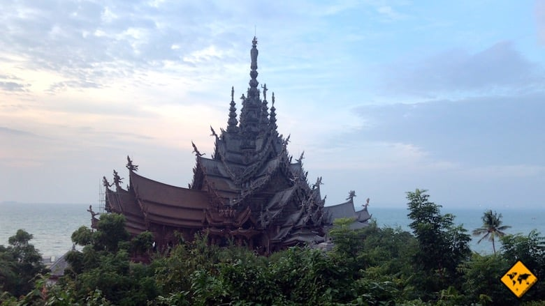 Thailand Rundreise Sanctuary of truth Pattaya
