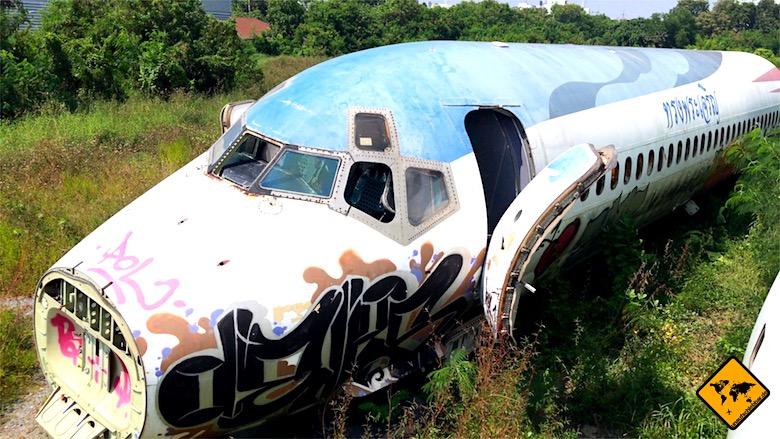 Thailand Urlaub Kosten Flugzeugfriedhof Bangkok