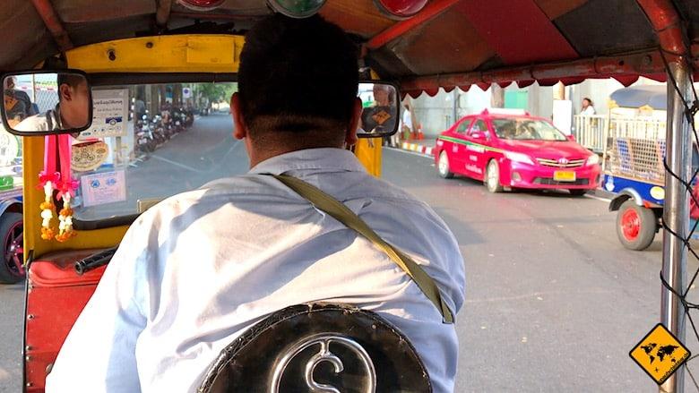 Thailand Urlaub Kosten Tuk Tuk
