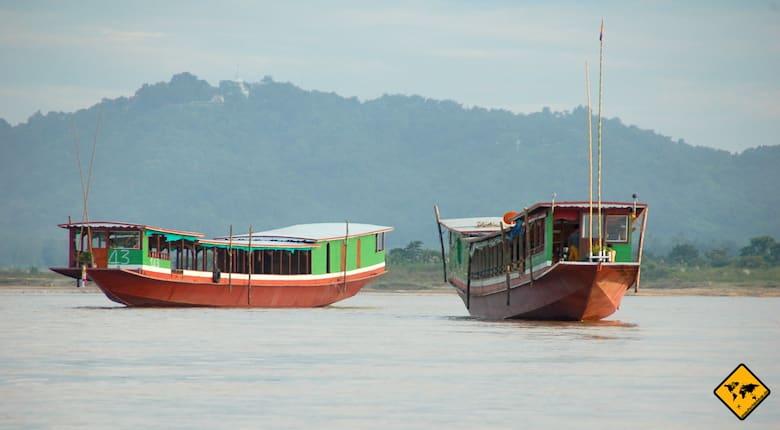 Thailand oder Bali Boote