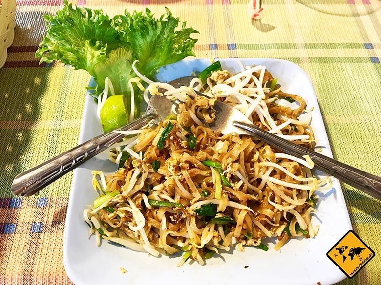 Thailand oder Bali Essen Pad Thai
