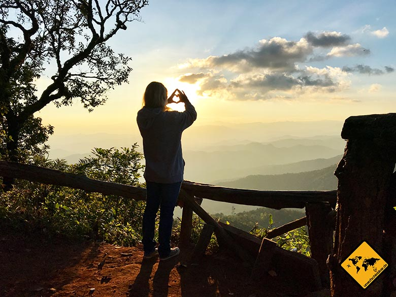 Thailand oder Bali Nationalpark Doi Suthep