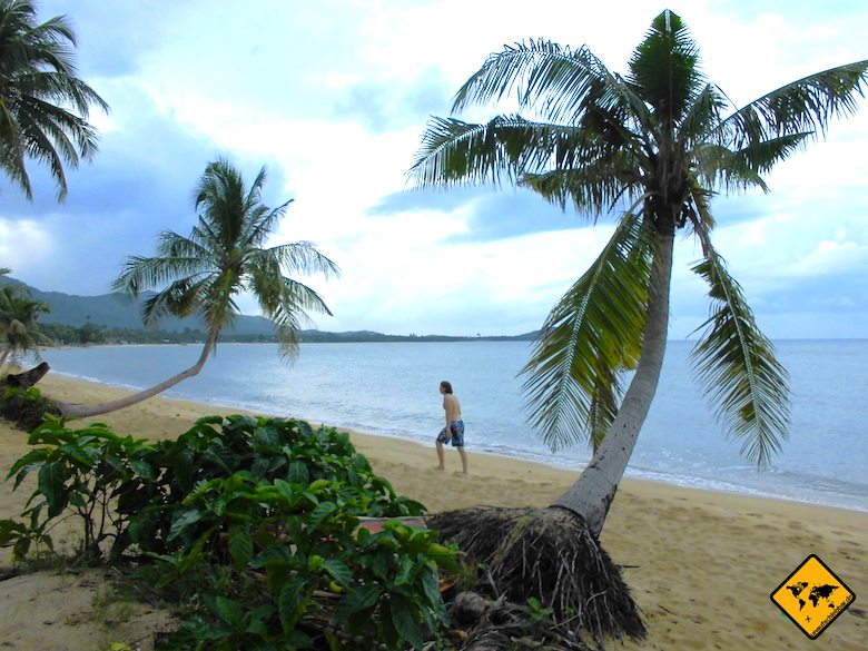 Thailand oder Bali Strand Koh Samui