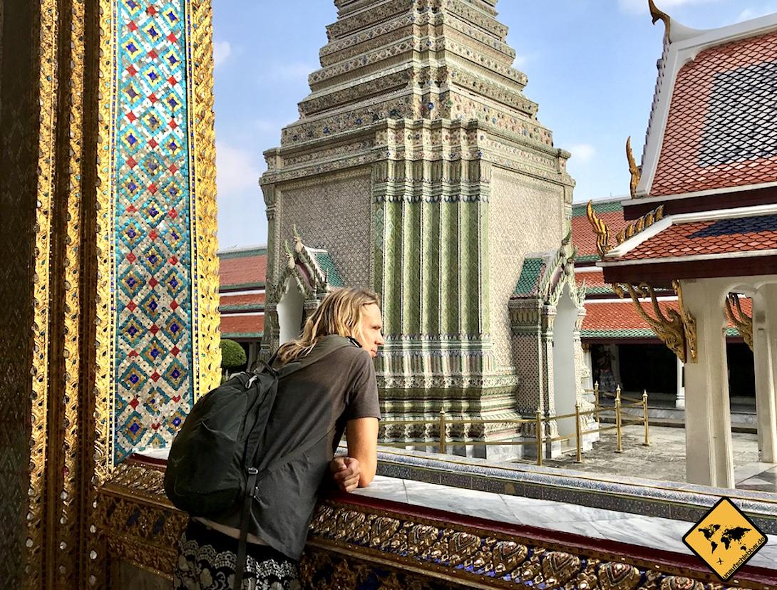 Thailand oder Sri Lanka Königspalast Bangkok