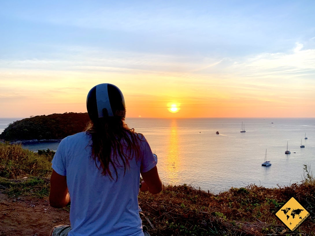 Thailand oder Sri Lanka Sonnenuntergang Phuket
