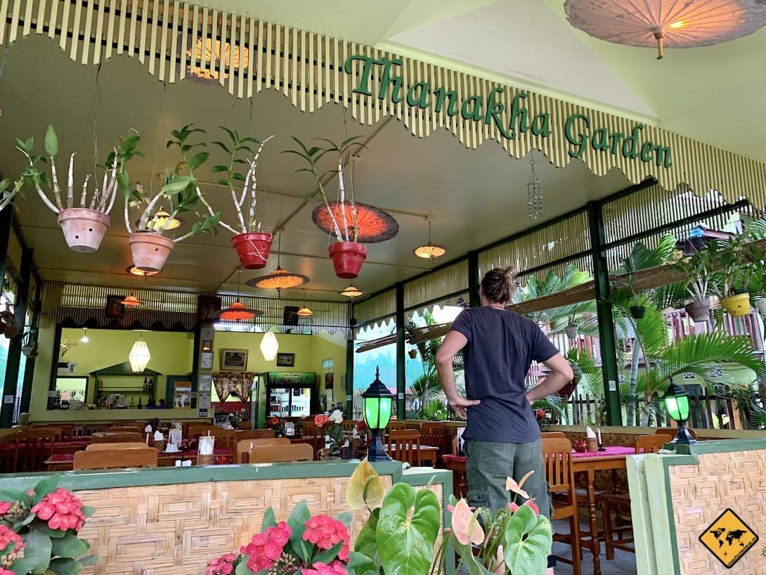 Thanakha Garden Restaurant Inle See Myanmar