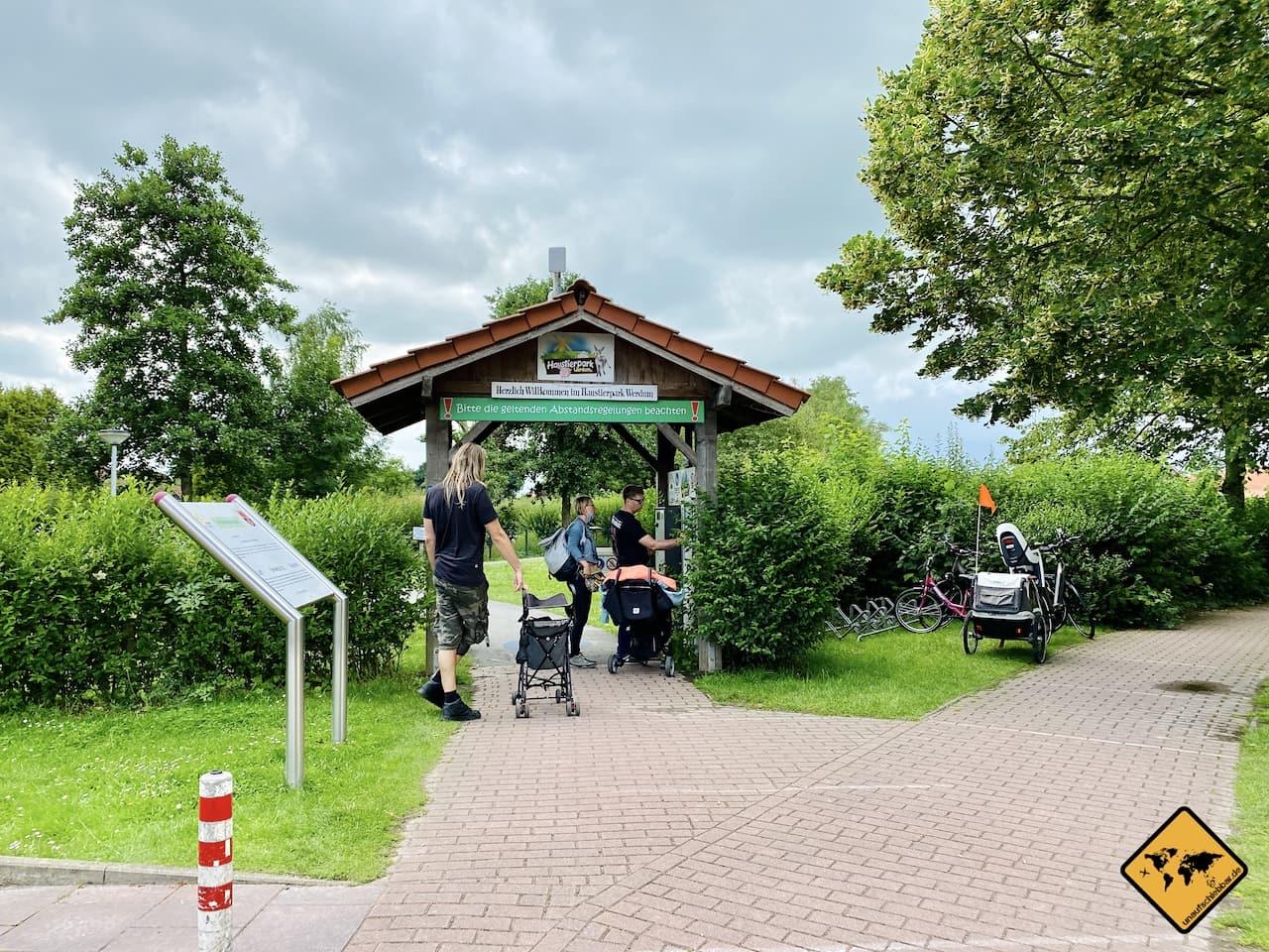 Tierpark Werdum Eingang