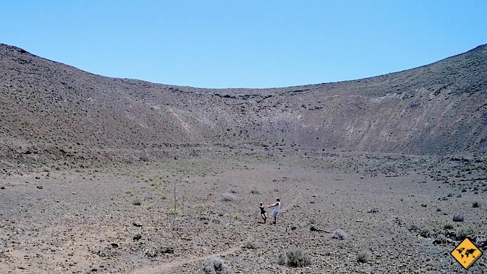 Timanfaya Nationalpark Wanderungen Krater