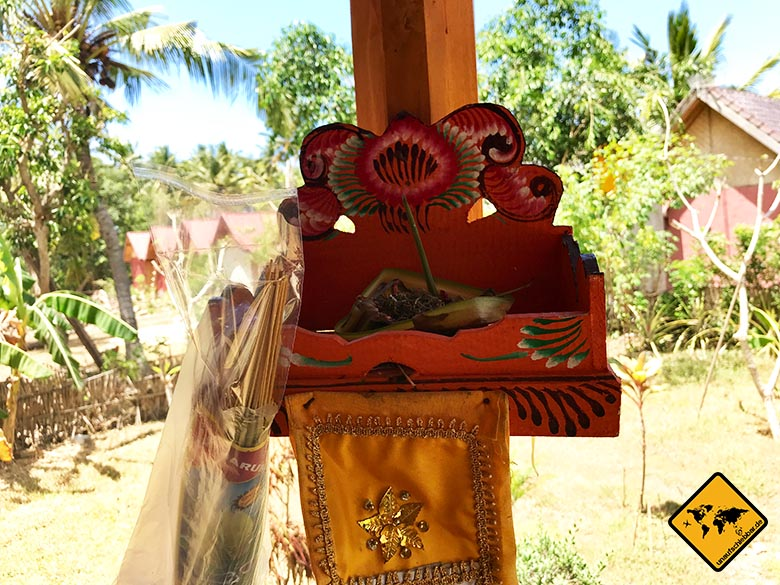 Timbool Bungalow Nusa Penida Hindu-Tempel