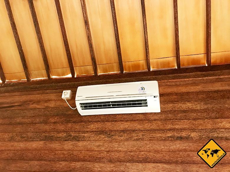 Timbool Nusa Penida Hotel Klimaanlage