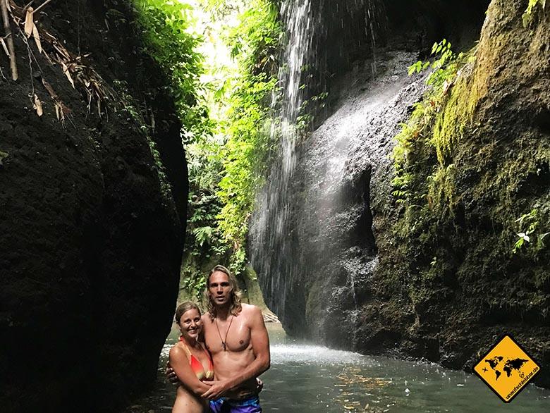 Tipps für Bali Goa Rang Reng Angel Waterfall