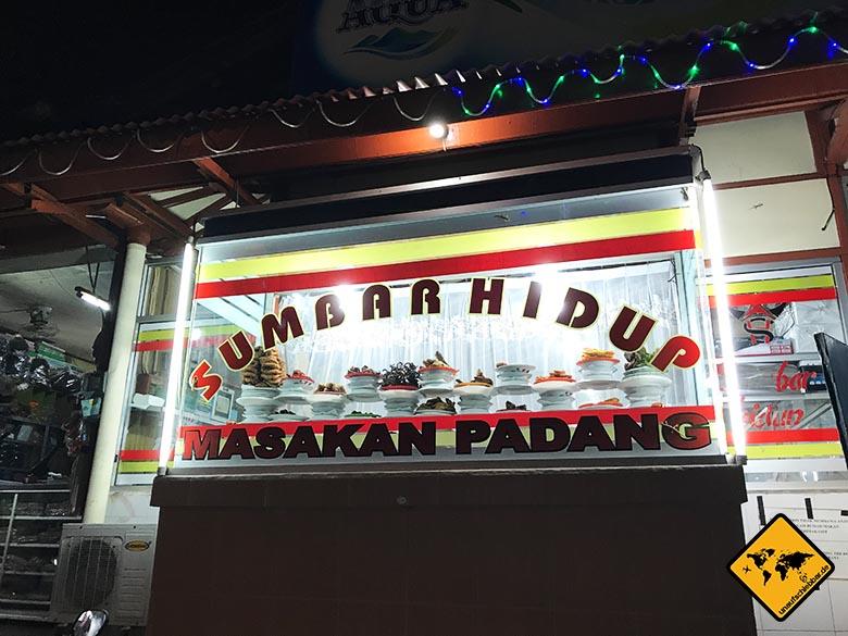 Tipps für Bali Warung Sumbar Hidup Ubud