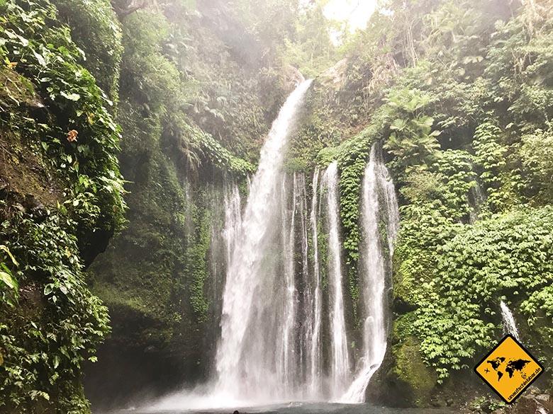 Tiu Kelep Wasserfall Lombok