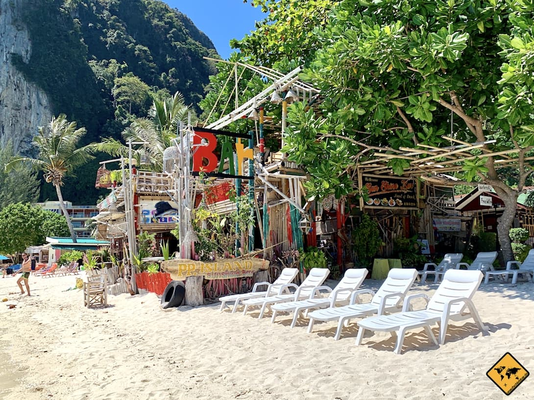 Tonsai Beach Koh Phi Phi Don Beachbar