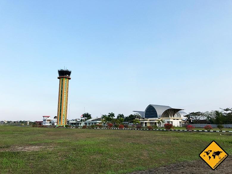 Tower Flughafen Lombok