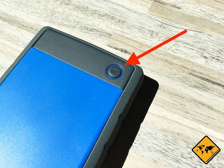 Transcend StoreJet 25h3b Test Externe Reise Festplatte One Touch Backup