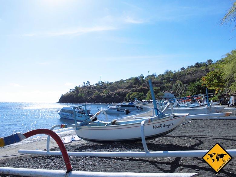 Transfer Bali Lombok Hafen Amed