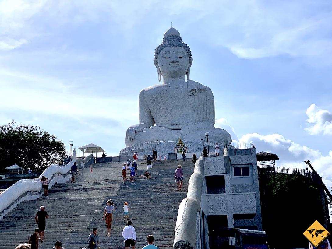 Treppe Big Buddha Phuket