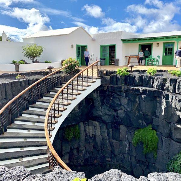 Treppe Innenhof Monumento al Campesino Lanzarote