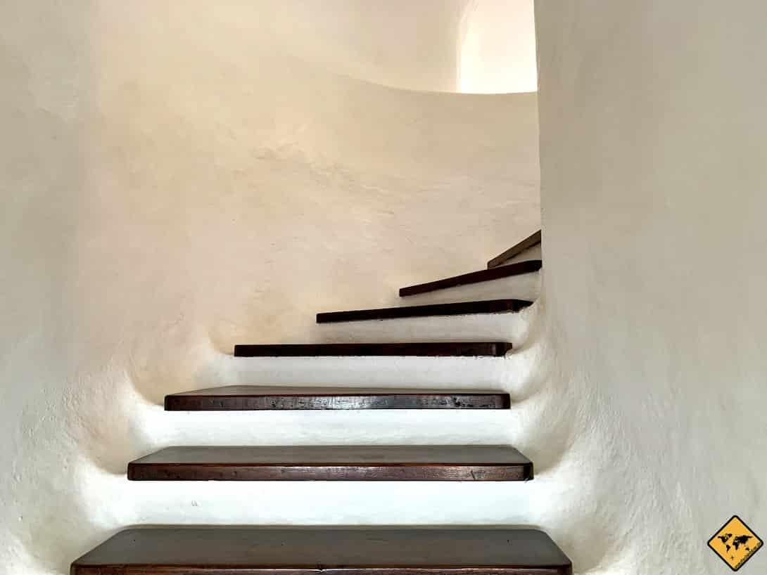 Treppe Mirador del Río Lanzarote