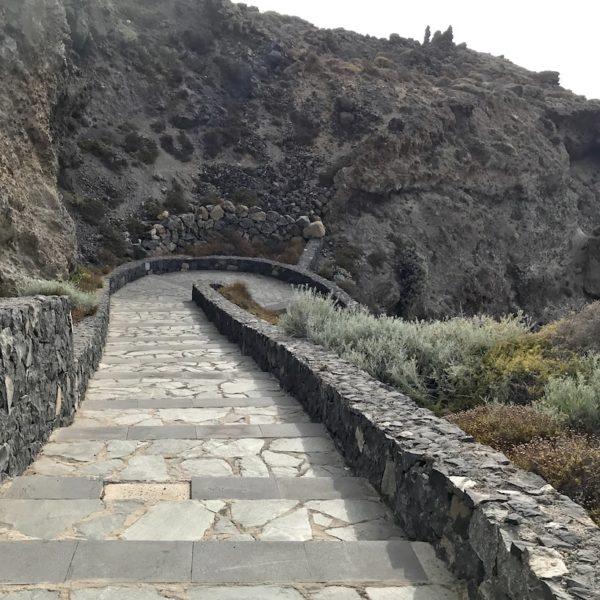 Treppen Charco del Viento