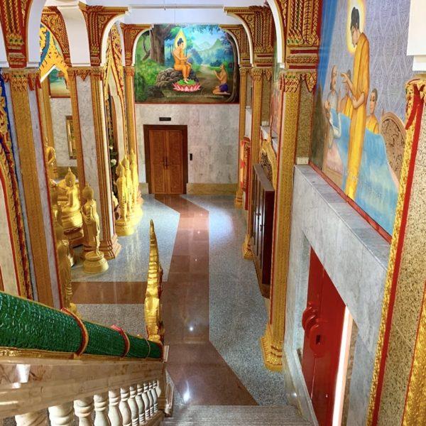 Treppenaufgang Wat Chalong