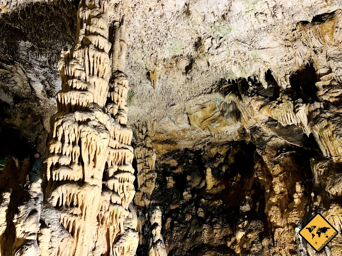 Tropfsteine Biserujka Höhle Krk