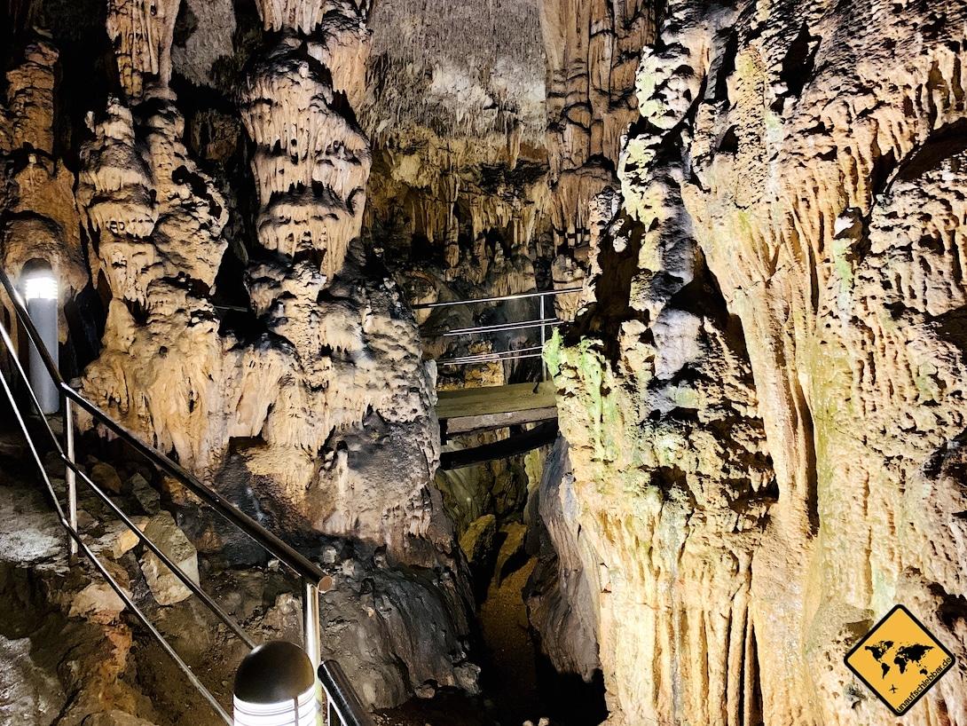 Tropfsteinhöhle Kroatien Biserujka Špilja