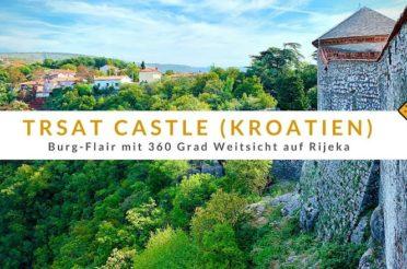 Trsat Castle in Rijeka (Kroatien): Burg-Flair mit 360 Grad Weitsicht