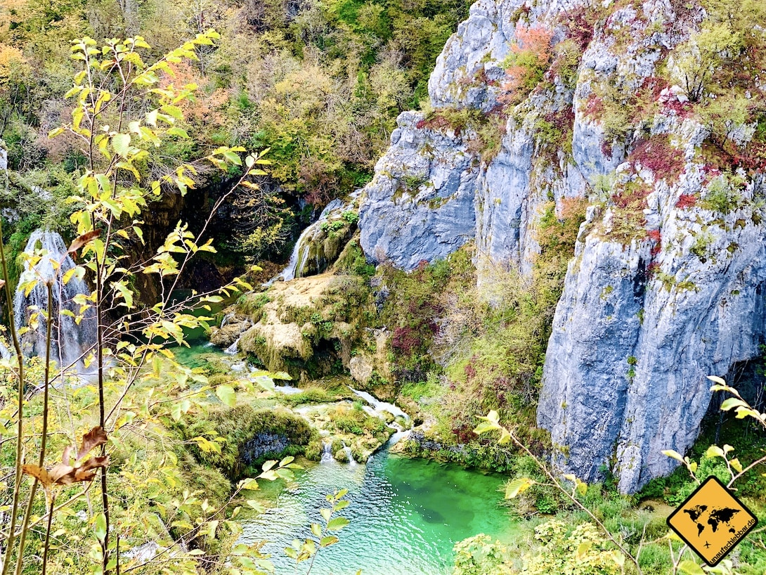 Türkiser See Nationalpark Kroatien
