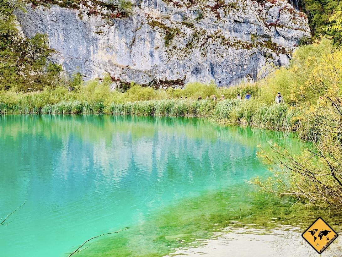 Türkiser See Nationalpark Plitvička jezera