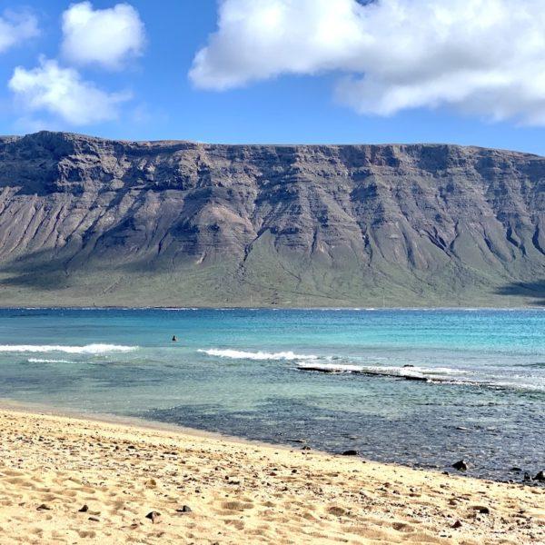 Türkises Wasser Strand La Graciosa
