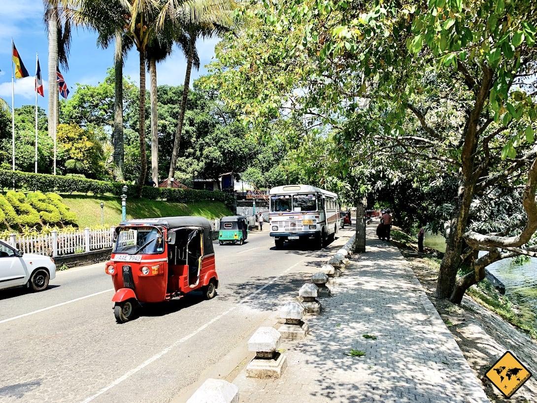 Tuk Tuk Bus Kandy Sri Lanka