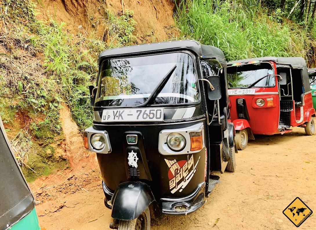 Tuk Tuk Sri Lanka Sicherheit