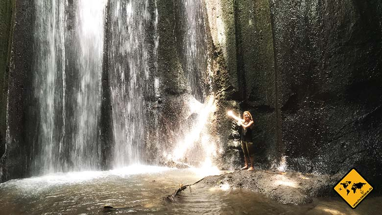 Tukad Cepung Waterfall Ansicht