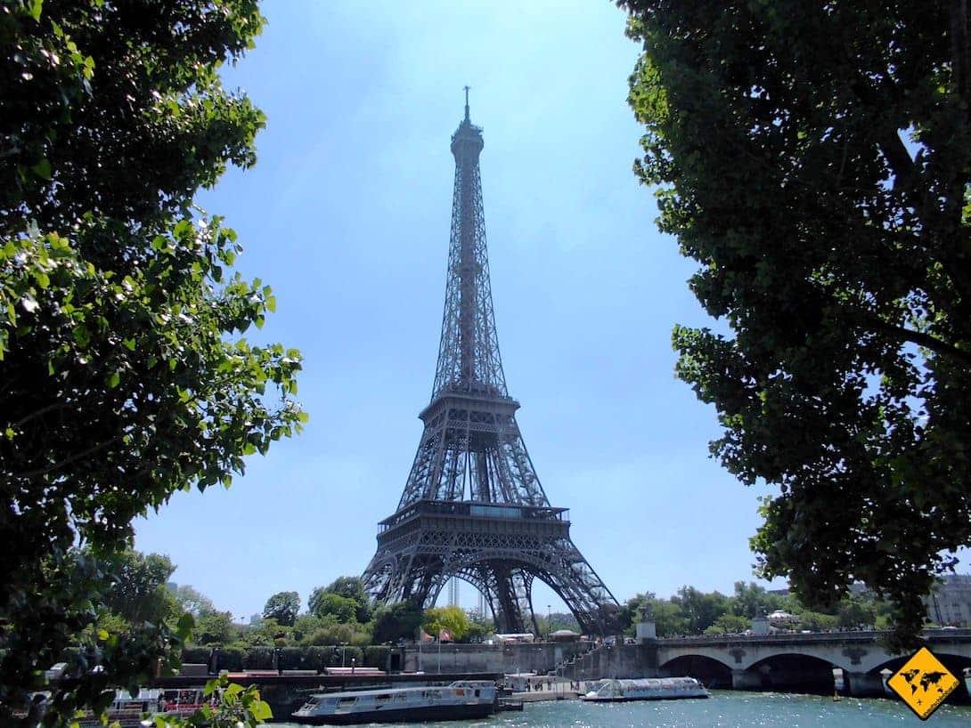Turbopass Paris Eiffelturm Seine Rundfahrt