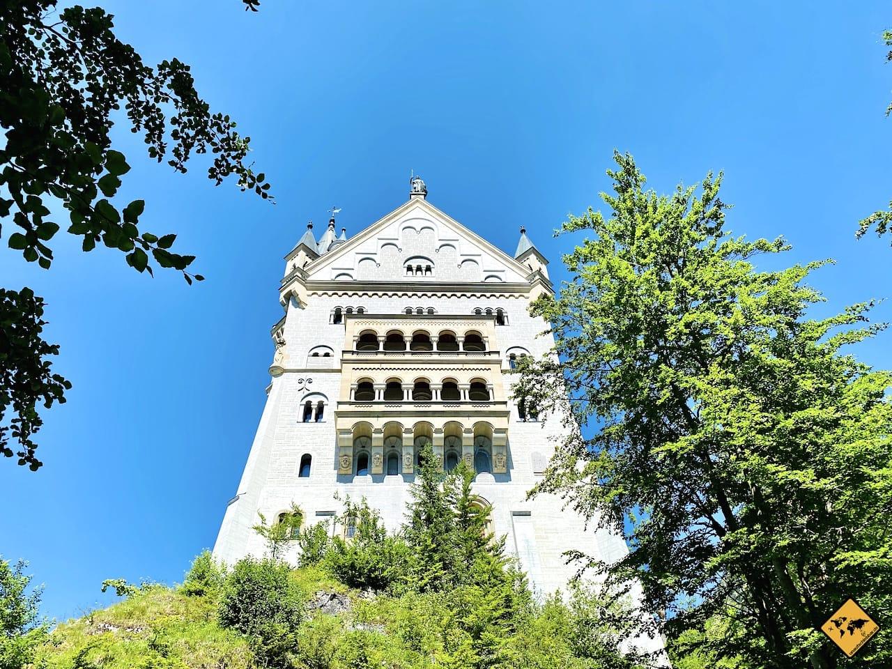 Turm Schloss Neuschwanstein