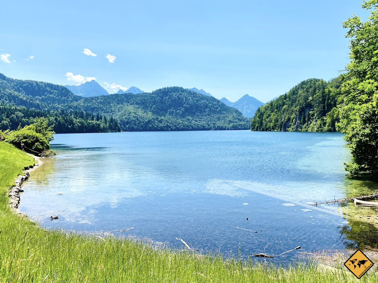 Ufer Alpsee Hohenschwangau