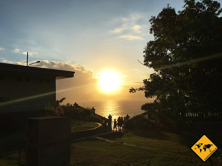 Uluwatu Tempel Sonnenuntergang