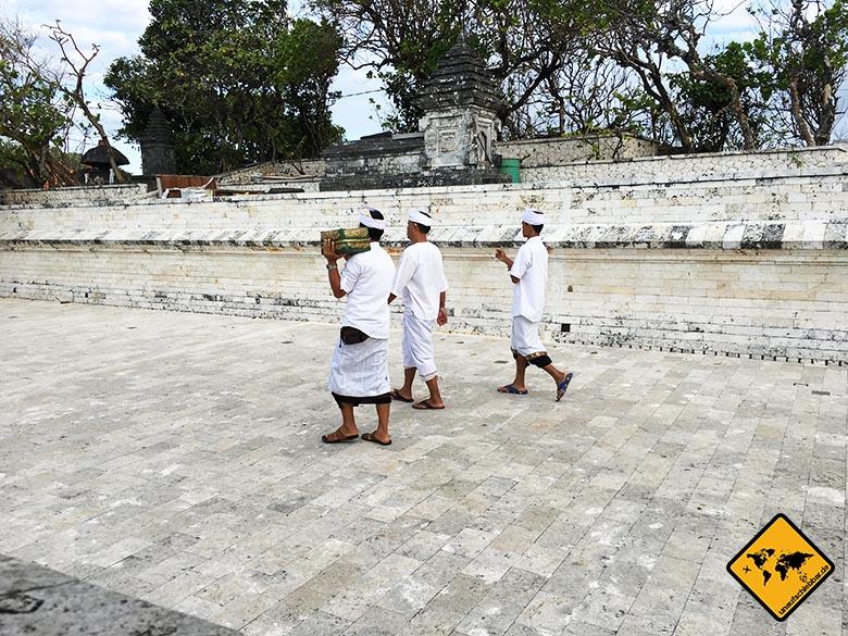 Uluwatu Temple Hindu Rituale
