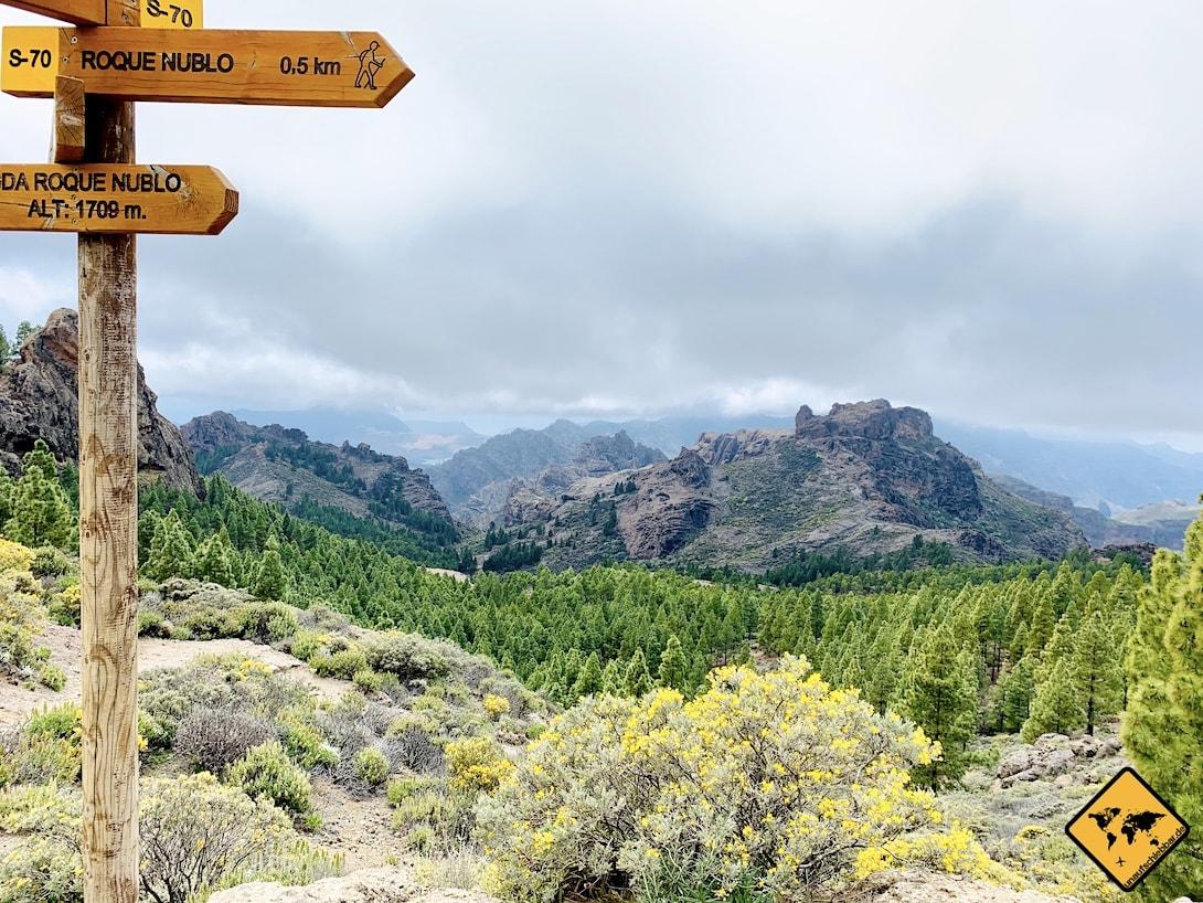 Umgebung Roque Nublo Gran Canaria